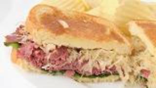 Grilled Rueben Sandwich - Video