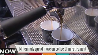 Millennials spend more on coffee than retirement - Video