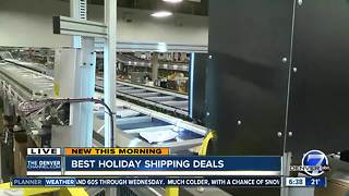 Getting the best holiday shipping deal - Video