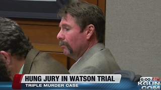 Murder trial of former firefighter David Watson ends with hung jury - Video