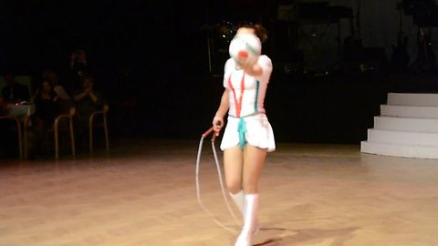 This Cirque du Soleil Jump Rope Artist Will Blow Your Mind