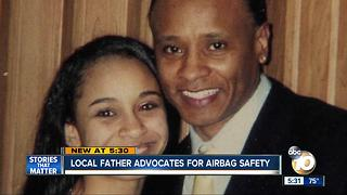 Local father advocates for airbag safety - Video