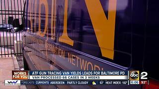 ATF gun tracing van yields leads in city violence - Video