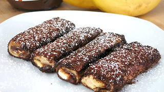 Chocolate banana French toast recipe - Video