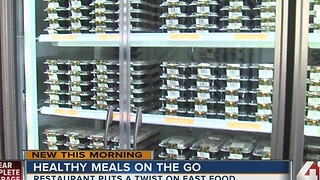 Healthy meals on the go: Restaurant puts a twist on fast food - Video