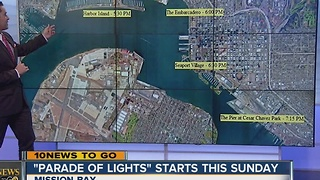 Best places to watch the San Diego Bay Parade of Lights - Video