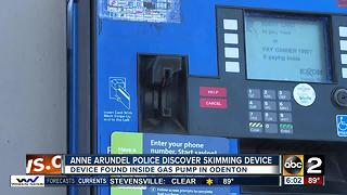 Police search for card skimming suspects in Odenton - Video