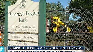 Seminole Heights playground in jeopardy