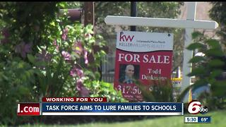 Lawrence task force aims to lure families to schools - Video