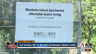 Blenheim School to become senior housing - Video