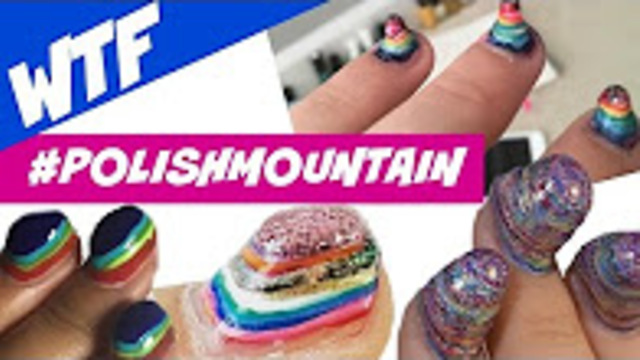 Polish Mountain Nail Art Challenge Dearnatural62