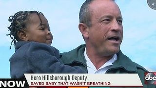 HCSO deputy saves 15-month-old boy - Video