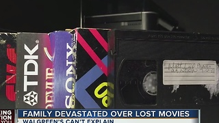 Retailer loses family's VHS tapes with more than 20 years of memories - Video