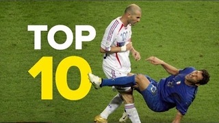Top 10 Shocking Moments In Football History - Video