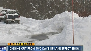 ELLICOTTVILLE SNOW - Video