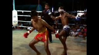 Boxing Champ With A Difference - Video