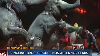 Ringling Bros. ends circus - Video