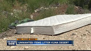Illegal dumping a problem in Kuna - Video