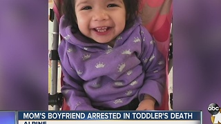 Man arrested in connection death of girlfriend's young daughter