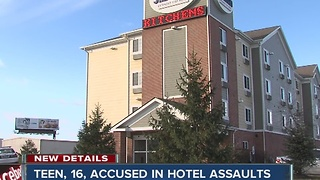 16-year-old accused of sexually assaulting two women - Video