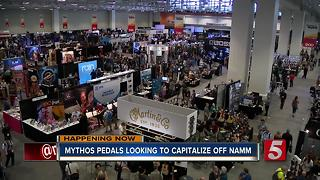 NAMM Show Brings Music Merchants To Nashville - Video