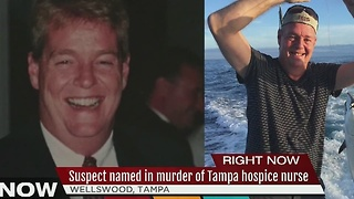 Tampa police issue arrest warrant for suspect wanted in murder of beloved Tampa nurse - Video