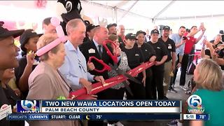 Wawa locations opening Thursday in West Palm Beach, Greenacres area - Video