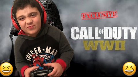 Beating Dad at Call of Duty! Son vs Dad Challenge