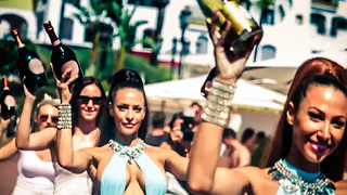 Marbella Spain 2017: nightlife, luxury, holidays, beach, parties & supercars  - Video