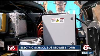 Electric school bus midwest tour - Video