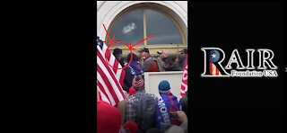 Patriots Stop Antifa from Breaking Windows at the Capitol Building (Proof)