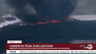 New mandatory evacuations issued for Cameron Peak Fire in Larimer County