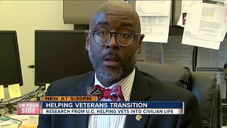 Helping veterans transition from battlefield to business - Video