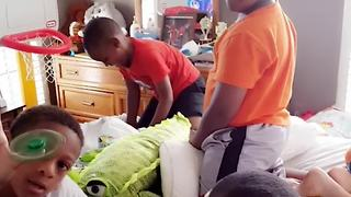 Hilarious Kids Have One Conclusion After A Sleepover - Video