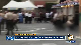 Background on accused Del Mar racetrack shooter