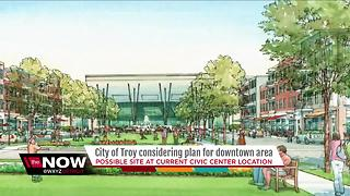 City of Troy considering plan for downtown area - Video