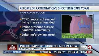 Police deny that rapper killer is in Cape Coral - Video
