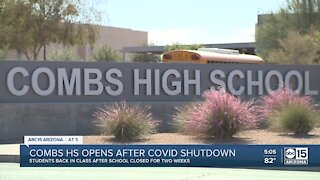 Combs High School reopens after closure due to COVID-19 cases