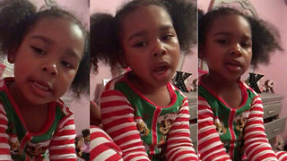 Adorable four-year-old pens original song for mum saying how beautiful she is and how much she loves her - Video