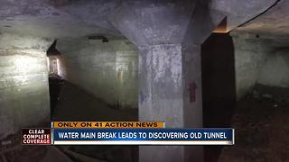 Underground tunnel discovered at 27th and Cleveland - Video