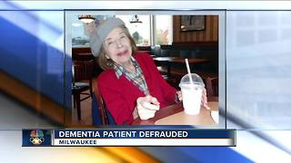 Attorney takes on case of defrauded Milwaukee Dementia patient - Video