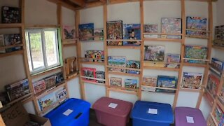 Town of Boston Man turned his chicken coop into The Puzzle Barn