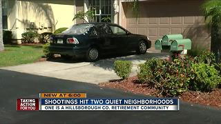 Valrico home in senior retirement community shot up early Friday morning in a 'targeted' event - Video