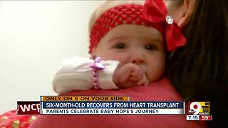 6-month-old recovers from heart transplant