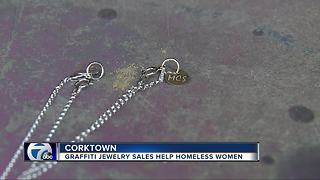 Local company to make graffiti-themed jewelry from pieces of Michigan Central Station