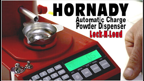 Hornady Automatic Charge Powder Dispenser Lock-N-Load (Review & Trial)