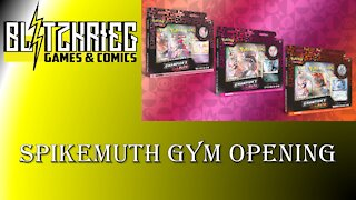Pokemon Spikemuth Gym Pin Collection Opening Champion's Path PKM