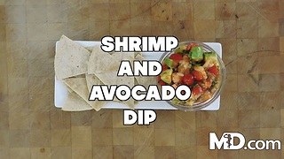 Shrimp & Avocado Dip Recipe | MDelicious - Video