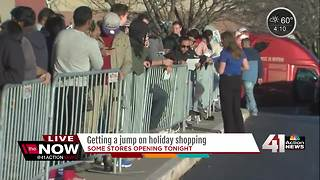 Some stores opening Thanksgiving night - Video