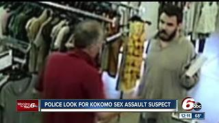 Kokomo police looking for suspect in sexual assault of juvenile inside Goodwill store - Video